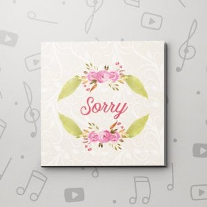 Sorry Flowers – Sorry Video Greeting Card