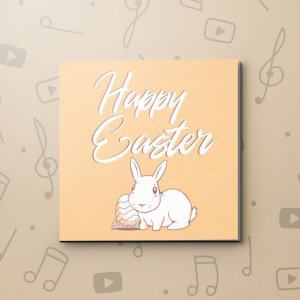 White Rabbit – Easter Video Greeting Card