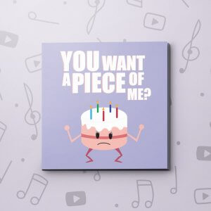 Piece of Me – Birthday Video Greeting Card
