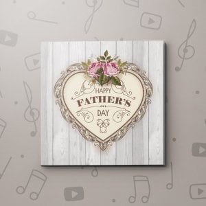 Father's Day Heart – Father's Day Video Greeting Card