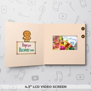 Tough Cookie – Get Well Video Greeting Card