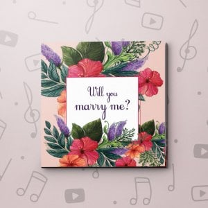 Will you marry me? – Proposal Video Greeting Card