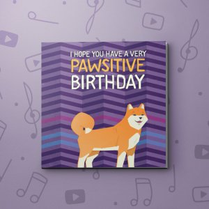 Pawsitive Birthday – Birthday Video Greeting Card