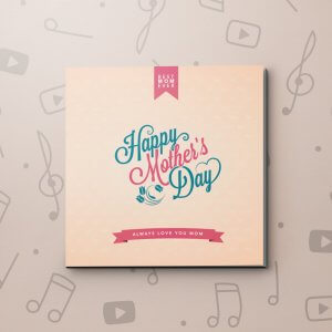 Mother's day - Vintage – Mother's Day Video Greeting Card