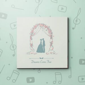 Dreams Come True – Wedding Video Greeting Card