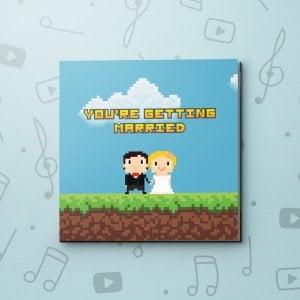 Pixel Wedding – Wedding Video Greeting Card