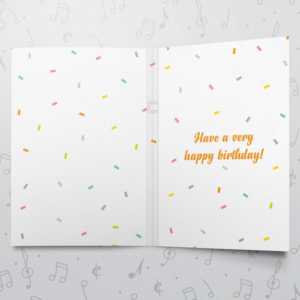 Birthday Presents Musical Card