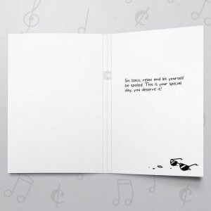 Relaxn' Birthday – Musical Birthday Card