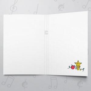 Christmas Star – Musical Christmas Card