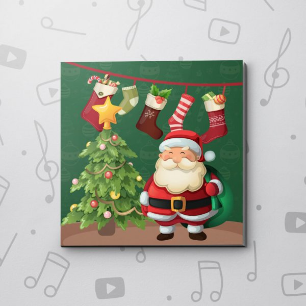 Merry Santa – Christmas Video Greeting Card