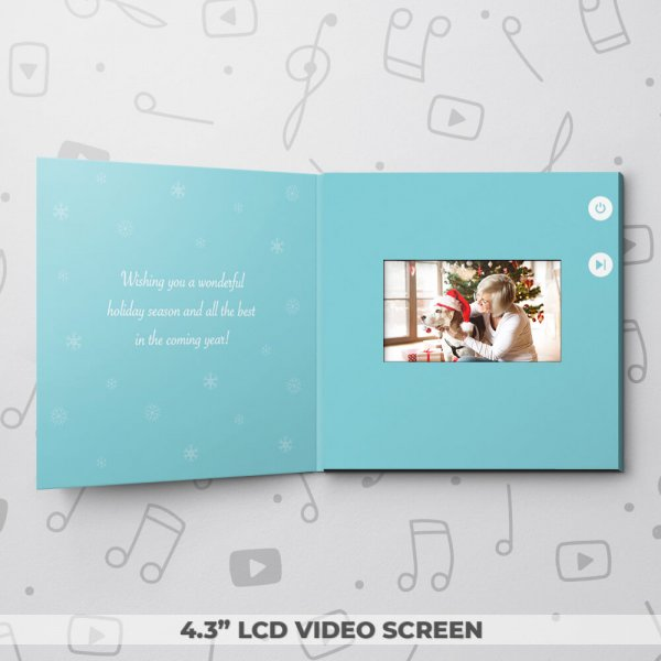 Christmas Penguins – Christmas Video Greeting Card
