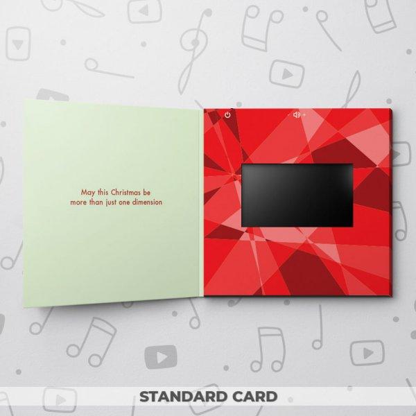 Red Christmas Reindeer – Christmas Video Greeting Card