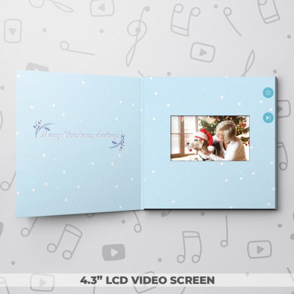 Owl I Want – Christmas Video Greeting Card