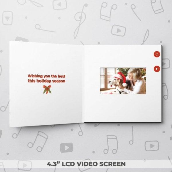 Season's Greetings – Christmas Video Greeting Card