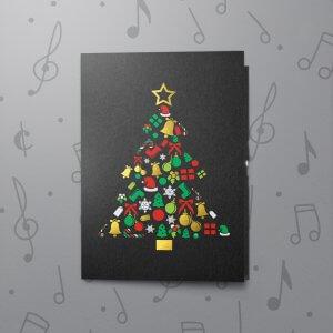 Christmas Tree – Musical Gift Card Holder