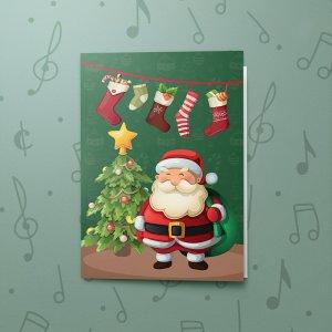 Merry Santa – Musical Gift Card Holder