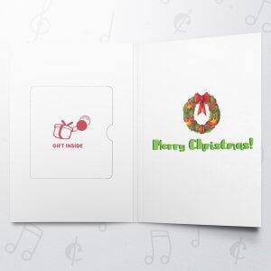 Merry Santa – Gift Card Holder