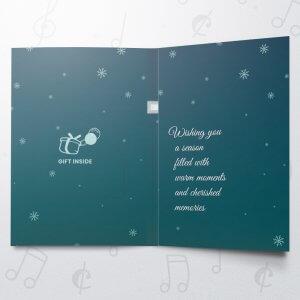 Christmas Night – Musical Gift Card Holder