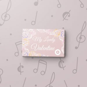 Roses - Musical Gift Tag