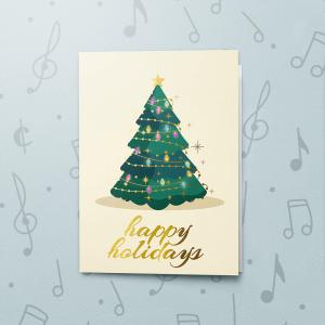 Shining Christmas Tree – Gift Card Holder