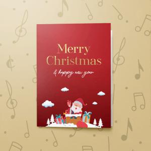 Christmas Red 2 – Gift Card Holder