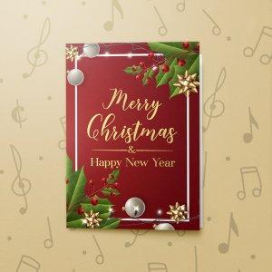 Christmas Red 3 – Gift Card Holder