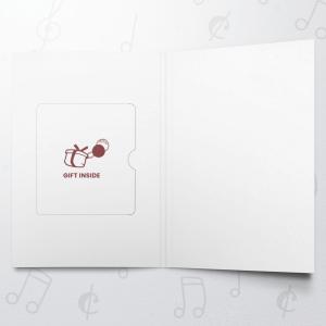 Christmas Red 1 – Gift Card Holder