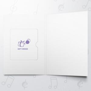 Birthday Retro Patterns – Gift Card Holder